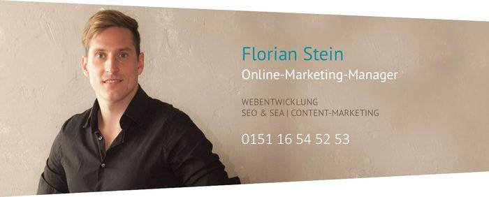 Florian Stein - Online-Marketing-Manager