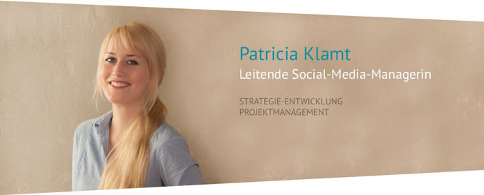 Patricia Klamt - Leitende Social-Media-Managerin